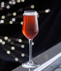 Armagnac Champagne Cocktail