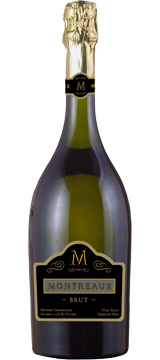 Pompette Notes:  Montreaux Brut Sparking Wine by Monticello Vineyards