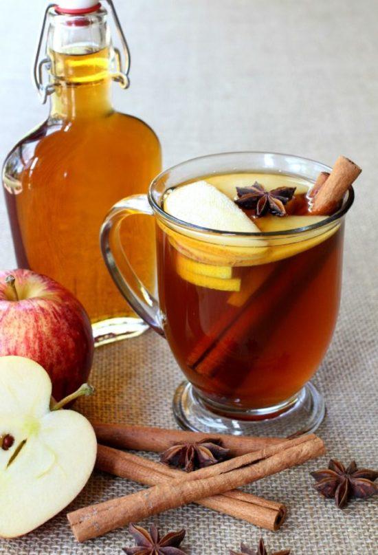 Apple Brandy Hot Toddies Recipe