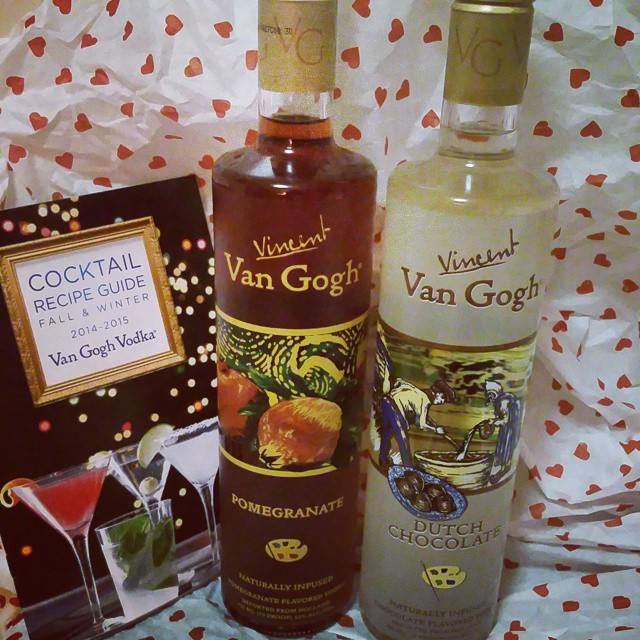 Make Sensual Cocktails For Valentines with Van Gogh Vodka