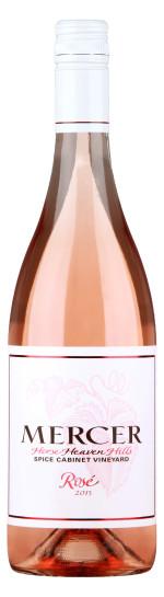 Pompette Notes: Mercer Spice Cabinet Horse Heaven Hills Rosé, 2015
