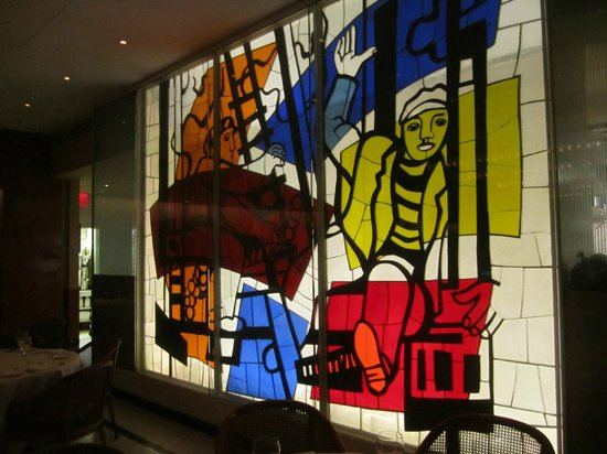 Authentic Parisian Cuisine Surrounded by Matisse, Léger and Marco Del Re at Brasserie 8 ½ in NYC