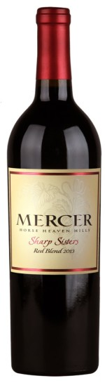 Pompette Notes: Mercer Estates Sharp Sisters Red Blend 2013