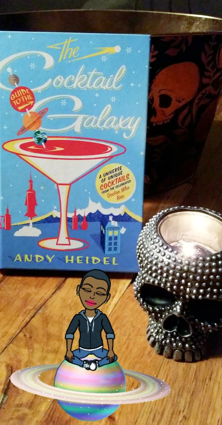 Bruja On Books: The Cocktail Guide To The Galaxy