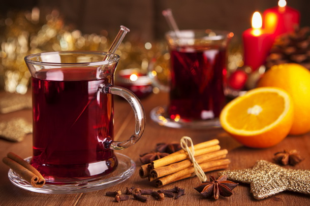 Mulled Wicked Wine Punch