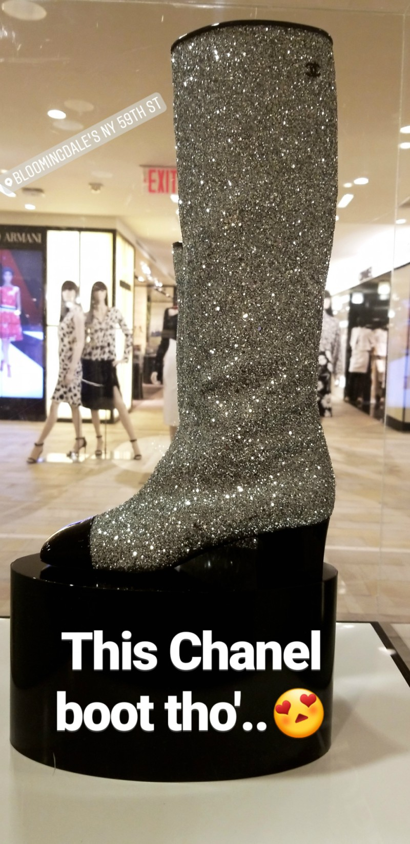 Witch Style: Chanel Glitter Boots