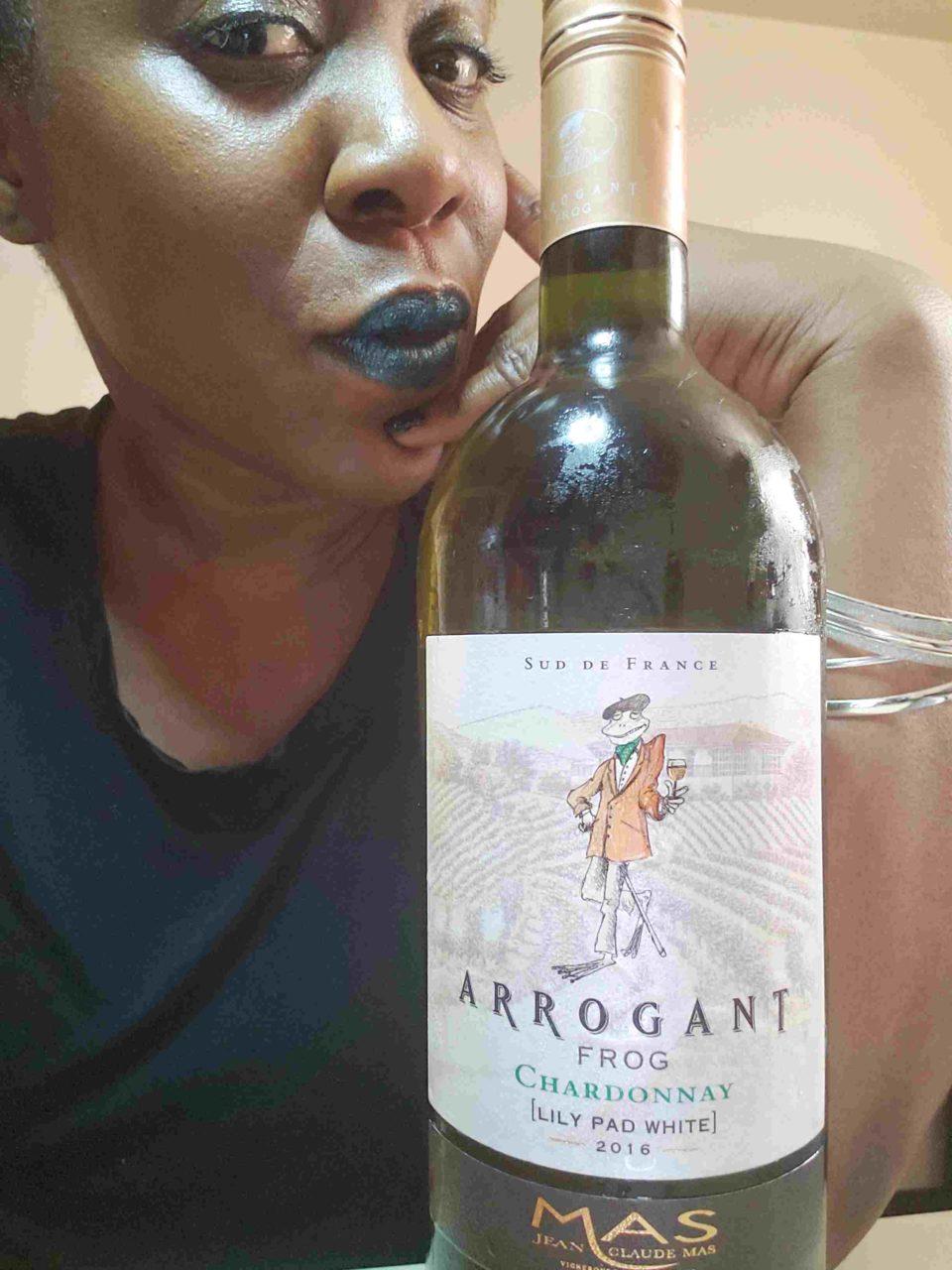 Witch On Wine Class: Arrogant Frog Chardonnay