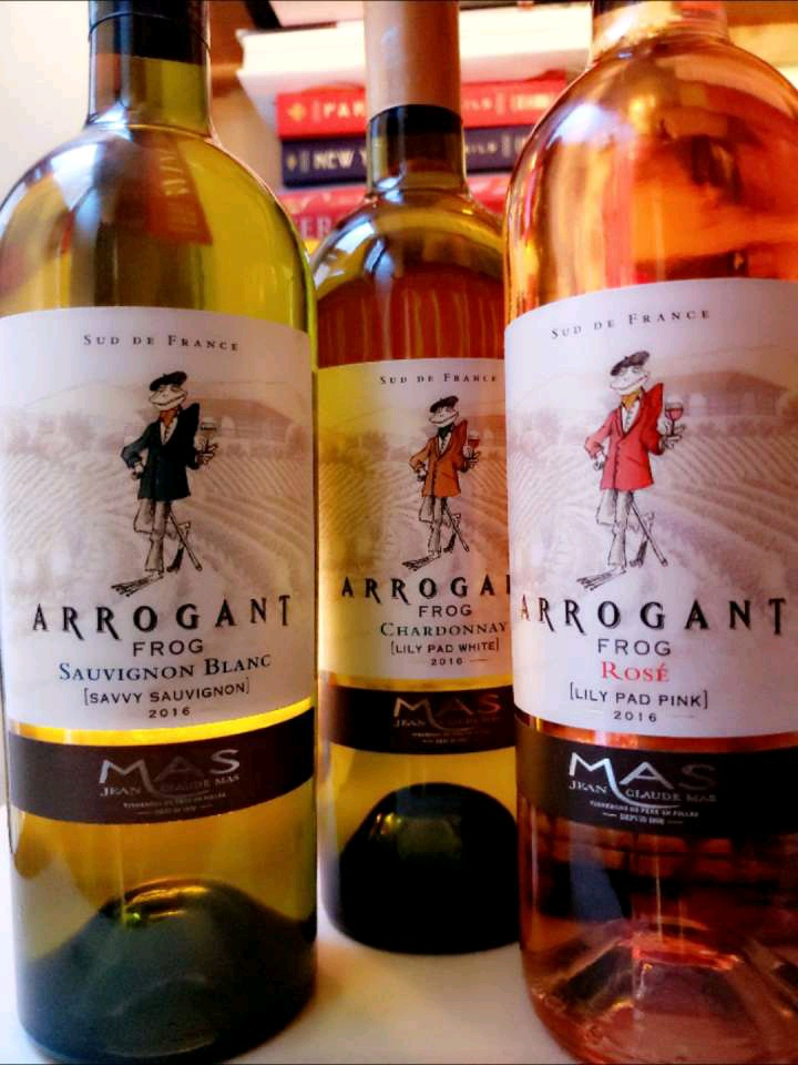 French Filled Weekend With Arrogant Frog Wines