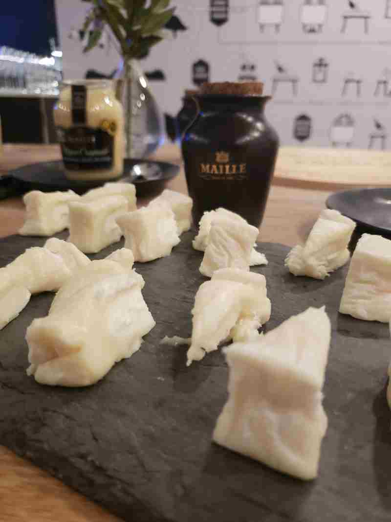 Charming Cheese: Maille Dijon Mustard Paired With French Cheese