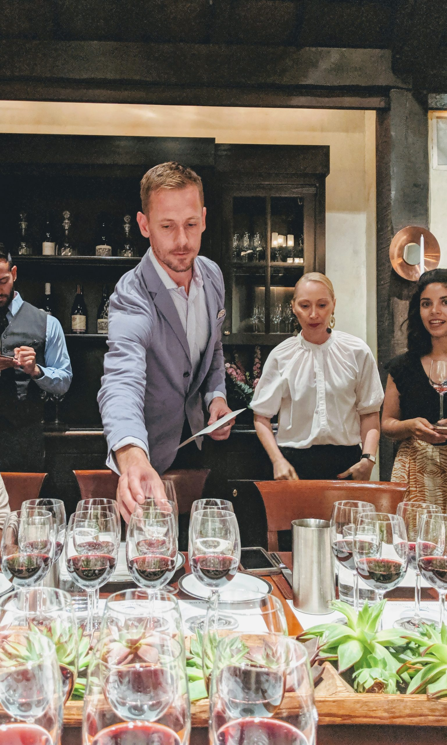 Lunch with Galil Mountain Wines at Gramercy Park