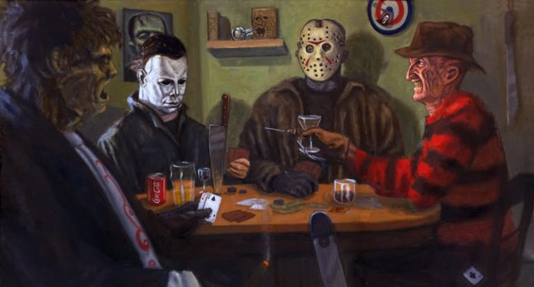 Slashers & Sips- Movie & Wine Pairings
